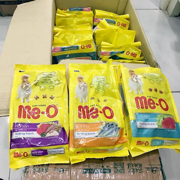 Thức Ăn cho mèo Me-O Adult 350g Vị Hải sản Cá Ngừ Cá thu Hạt cho mèo trưởng thành- Cutepets