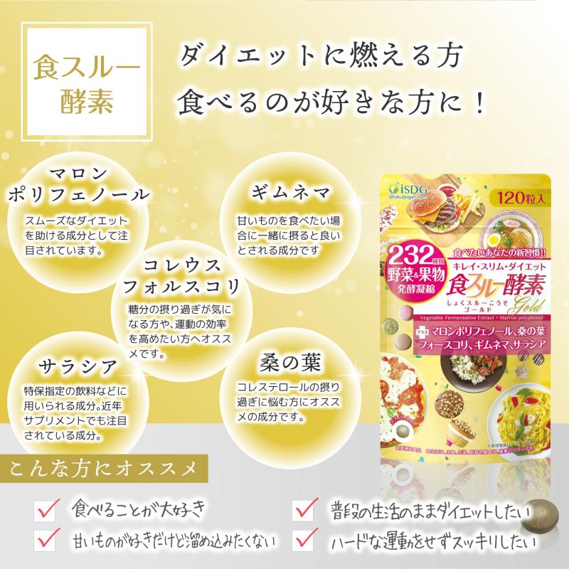 ISDG gold diet Enzyme. Bổ sung các chất xơ và trái cây cần thiết cho chế độ ăn kiêng hoàn hảo. Giảm cảm giác thèm ăn, duy trì vóc dáng. cao cấp