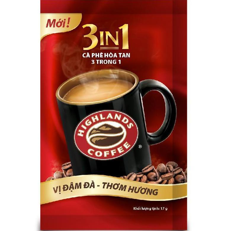 Giảm 32 %】 Cà Phê Highlands Coffee 3in1 Hòa Tan 680g (40
