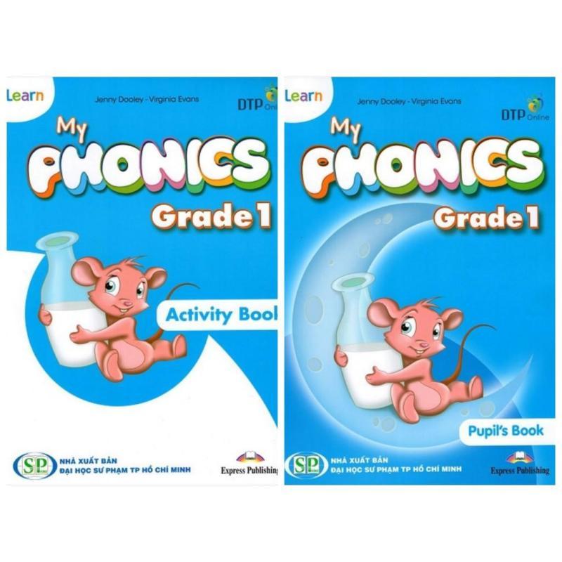 i-Learn My Phonics Grade 1 (bộ 2q Tặng Sticker)