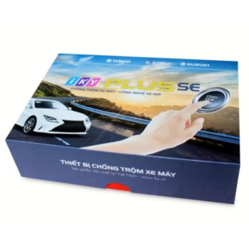 Khóa chống trộm xe máy cao cấp IKY PLUS SE - Hàng chính hãng - Bảo hành 1 đổi 1