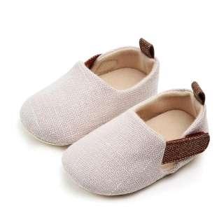 Giày Em Bé Đế Bằng Màu Trơn Không Trơn Trượt Nhiều Màu Sắc Nhiều Kích Thước thích hợp với cả bé trai và bé gái - INTL