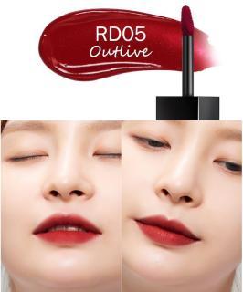 Son Kem Lì A Pieu Color Lip Stain Velvet Tint màu RD05 Outlive Đỏ lạnh siêu sangsiêu đẹp thumbnail