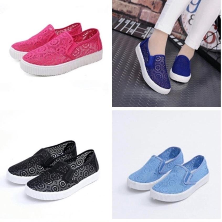 Giày lười nữ mùa hè giá rẻ