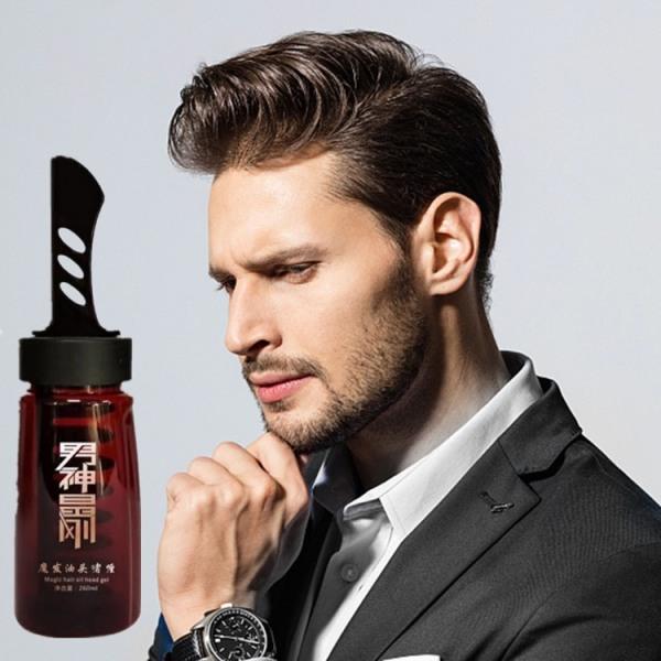 Gel vuốt tóc nam cao cấp chai 260ml kèm lược tiện dụng thân thiện với mọi loại tóc
