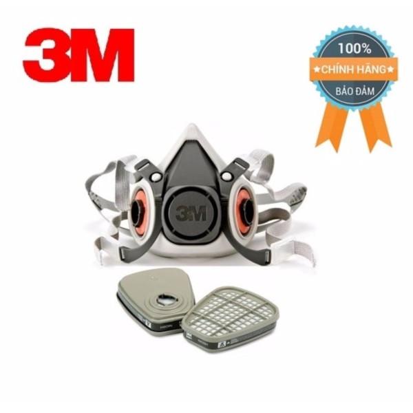 Mặt nạ 6100/6200 kèm cặp phin lọc 6001 3m lọc hơi hóa chất hữu cơ, cam kết hàng đúng mô tả, chất lượng đảm bảo an toàn đến sức khỏe người sử dụng