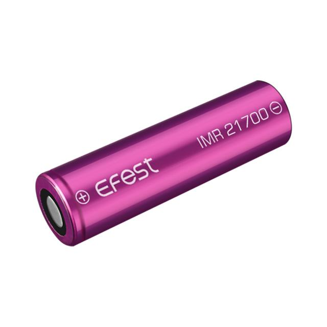 Pin Sạc Efest IMR 21700 4000mAh 30A 3.7V Purple Battery