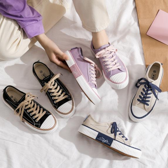 Giày bánh mì giày nữ mẫu mới nhất mùa thu 2020 giá rẻ