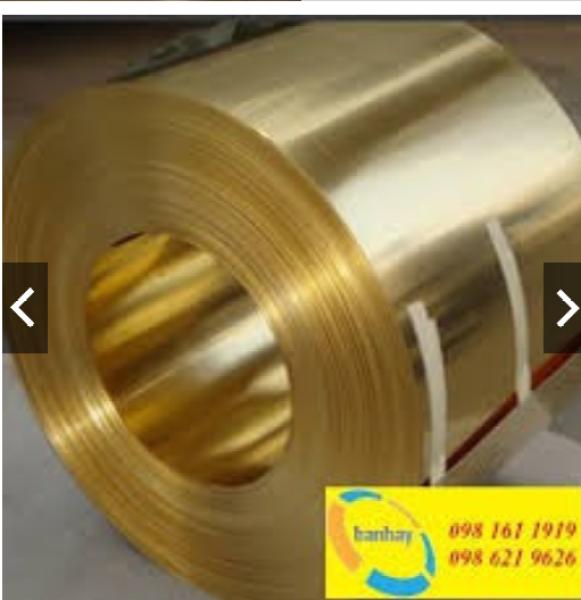 Đồng tấm lá vàng 0.3x600x500