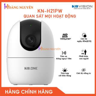 [NHÀ PHÂN PHỐI] Camera IP WIFI 360 KN-H21PW KBONE Của KBVISION - Camera giám sát an ninh không dây Công Nghệ Hoàng Nguyễn thumbnail