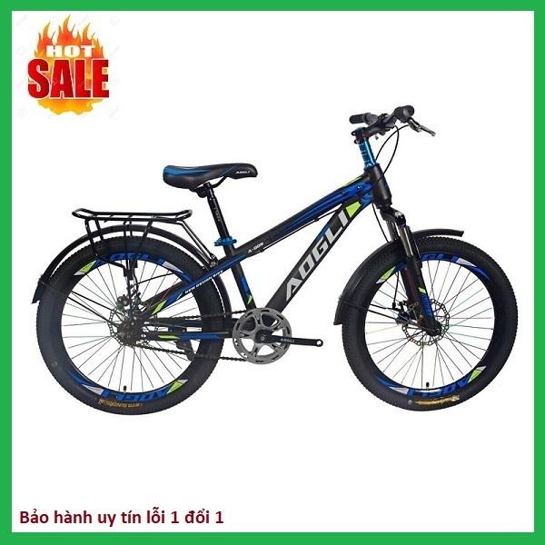 Giá bán Xe đạp trẻ em AOGLI, dáng thể thao mạnh mẽ, vành nan 18inch