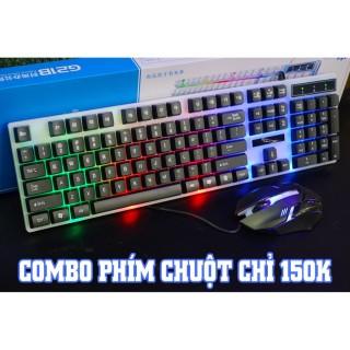 COMBO PHÍM CHUỘT CƠ LIMEIDE G21 LED RAINBOW thumbnail