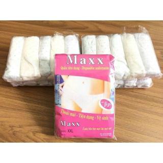 Combo 15 Quần Lót Giấy Chấm Bi Maxx Loại 1 Đủ Size (3 Gói) thumbnail