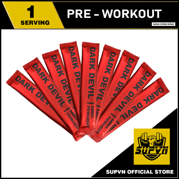Pre Workout Dark Devil Sample - Thực Phẩm Bổ Sung Tăng Sức Mạnh Tăng Năng Lượng Tập Luyện