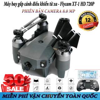 Flycam quay video Full HD 720P, Máy bay điều khiển kết nối wifi 3G - 4G, Máy bay điều khiển từ xa XT-1, Động cơ mạnh mẽ, Nhào lộn 360 độ, Tốc độ cao - Pin cực trâu. thumbnail