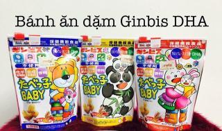 Bánh Ăn Dặm Ginbis DHA Nhật Bản Túi ZIP thumbnail