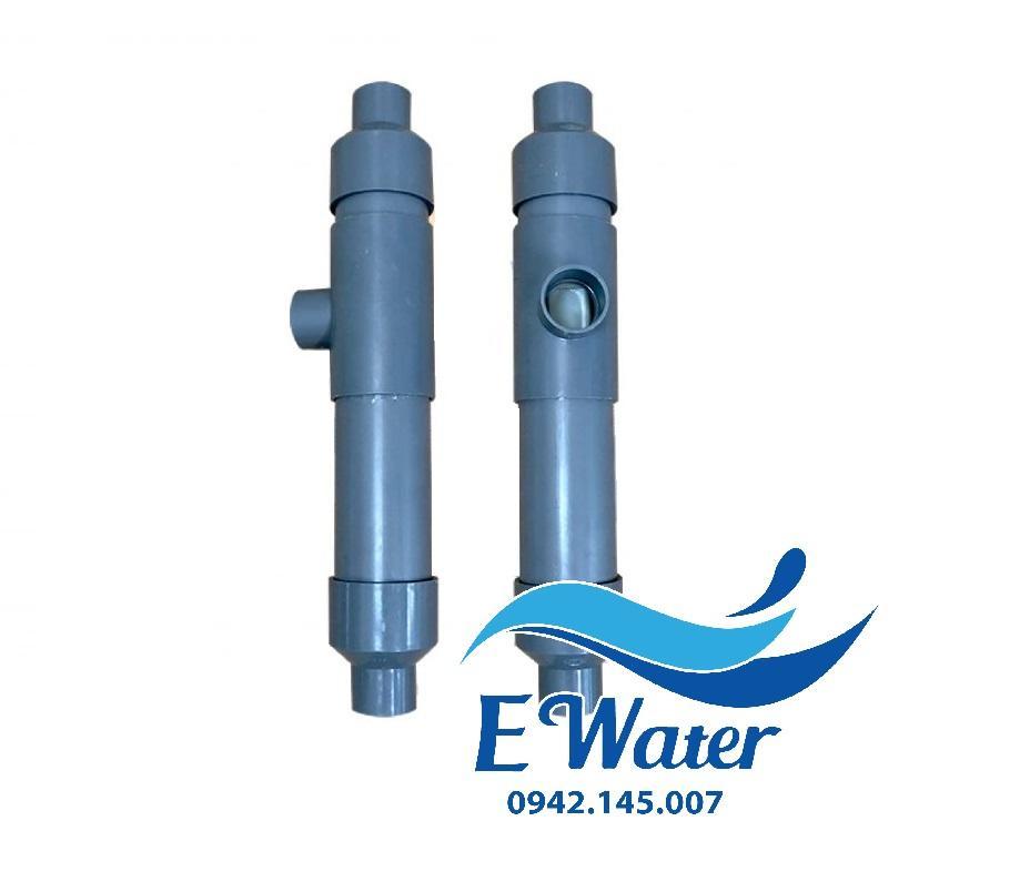 Bảng giá Thiết bị Venturi xử lý sắt trong giếng khoan D34 thân D60 - Ewater - Ejector trộn khí Điện máy Pico