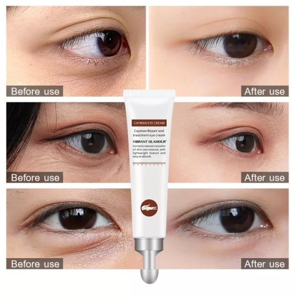 VIBRANT GLAMOUR Kem dưỡng mắt Kem chống lão hóa chống nhăn vùng mắt có thể loại bỏ quầng thâm và bọng mắt hiệu quả, kem dưỡng phục hồi vùng mắt và kem dưỡng ẩm