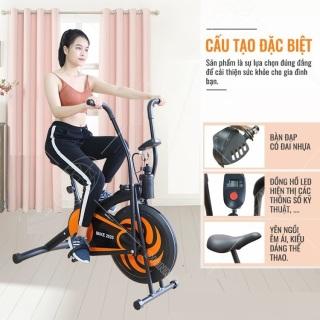 Xe đạp tập thể dục tập gym, giảm cân, giảm mỡ bụng tại nhà CHẮC CHẮN BỀN HT20-HL- M Xe đạp tập thể thao - Xe đạp tập tại nhà (MIỄN PHÍ VẬN CHUYỂN 70K) thumbnail
