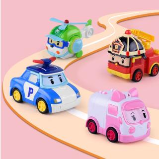 Raffer Bộ 4 xe Robocar poli xinh xắn đáng yêu - Đồ chơi sưu tập kích thích trí tưởng tượng và sự khéo léo RF651 thumbnail