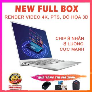 (NEW 100% FULLBOX) Dell Inspiron 5505, Ultrabook đa nhiệm, lập trình, đồ họa siêu đỉnh, Ryzen R7-4700U, RAM 8G, SSD 256G, VGA AMD Vega 7, Màn 15.6 Full HD IPS thumbnail