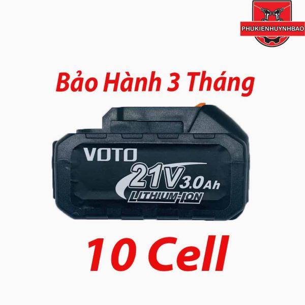 Pin 21V VOTO 3000mah Chân Cắm Makita,Bảo Hành 3 Tháng