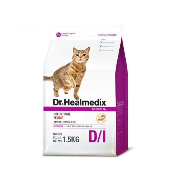 Thức ăn mèo Dr.Healmedix Intestinal Feline 1.5kg - Hỗ trợ đường ruột
