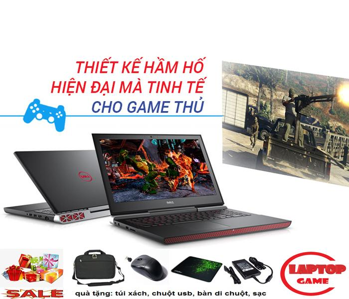 Laptop Khủng Game-Nvidia GTX1050 TI 4G -Dell Gaming 7567 Core i5-7300HQ/Ram 8G/HDD 1TB/Nvidia GTX1050TI 4G/15.6