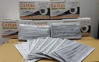 Khẩu trang y tế 4 lớp CATENA kháng khuẩn Nam Anh Famapro - Than hoạt tính - Hộp 50 cái thumbnail