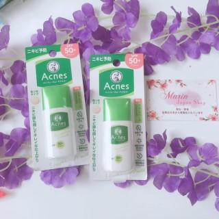 (SALE 350k -- 230k) Kem chống nắng dành cho da nhạy cảm, da mụn , có lên tone thay kem lót chống mụn Acnes thumbnail