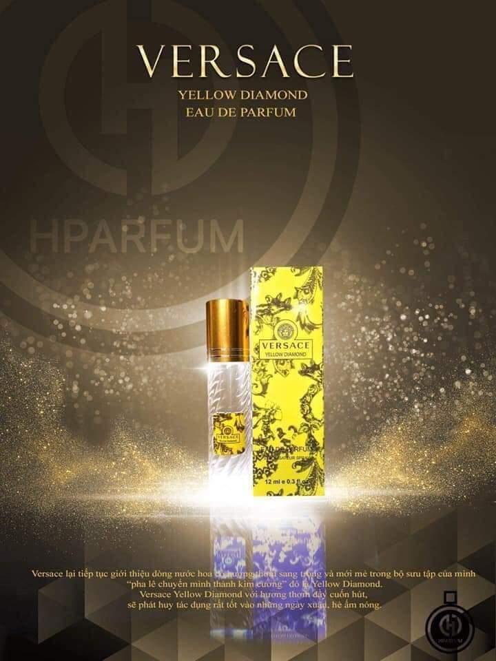 VERSACE YELLOW DIAMOND tinh dầu thơm pháp hparfum [mùi nữ ] chính hãng