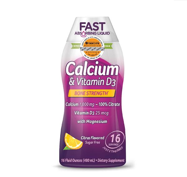 Canxi & Vitamin D Dạng Nước Natures Way Calcium & Vitamin D Liquid 480ml