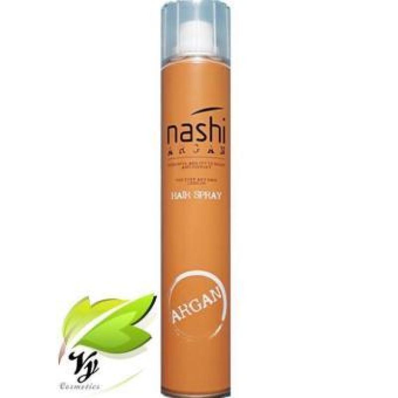 Gôm xịt tạo kiểu tóc Nashi Argan Ý 320ml giá rẻ