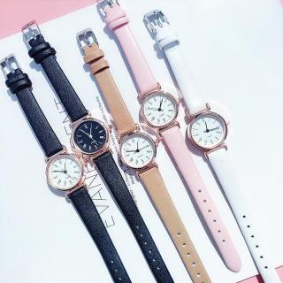 (Tặng kèm hộp và pin) Đồng hồ thời trang nữ Huans mặt la mã thumbnail