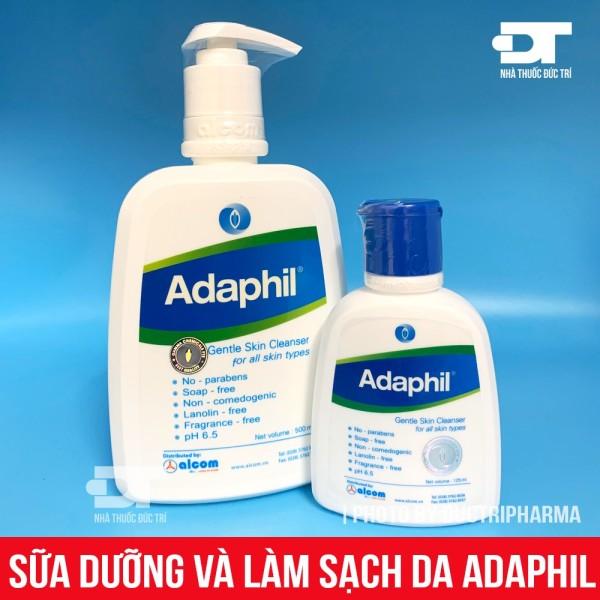 Sữa rửa mặt dịu nhẹ adaphil lành tính ngừa mụn, cam kết hàng đúng mô tả, chất lượng đảm bảo an toàn đến sức khỏe người sử dụng