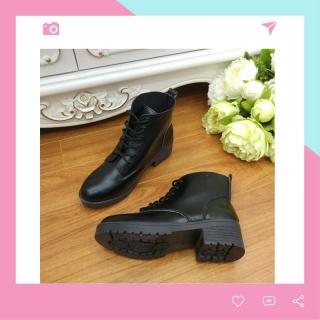 Boots Nữ Cổ Ngắn Buộc Dây BT2 Minisu thumbnail
