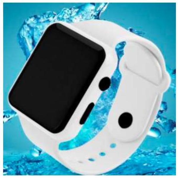 Nơi bán Đồng hồ LED kiểu dáng Smartwatch DZ09 có nút bấm (Trắng)