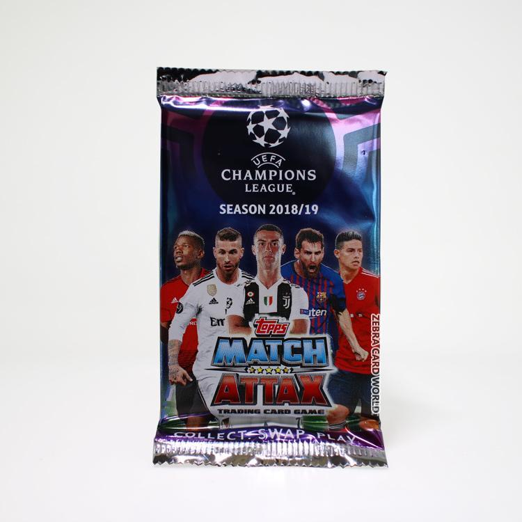Topps Match Attax 2018-19 Mùa Giải UEFA Champions League Thẻ Ngôi Sao Bóng Đá Thẻ Duy Nhất
