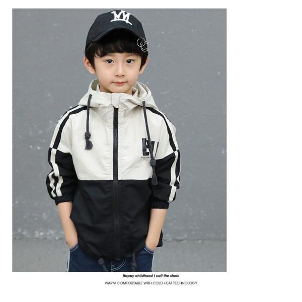 áo khoác bé trai , áo gió cho bé 2 lớp UNISEX từ 5 đến 14 tuổi D29