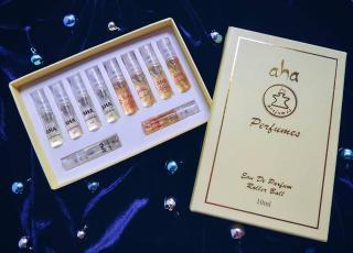 Set 10 nước hoa nữ AHAPERFUMES (nước hoa mini) - dạng xịt - lưu hương 8h thumbnail