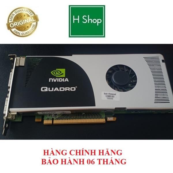Bảng giá [Nhập ELMAR31 giảm 10% tối đa 200k đơn từ 99k]Card màn hình NVIDIA Quadro FX 3700 512MB 256-Bit GDDR3 hàng chính hãng tháo máy bảo hành 6 tháng Phong Vũ
