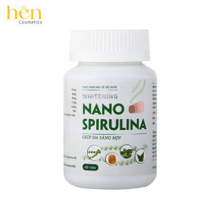 Whitening Nano Spirulina Viên uống hỗ trợ trắng da an toàn từ các thành phần tự nhiên thumbnail