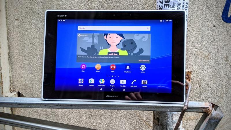 Máy tính bảng Sony Tablet Z2 WIFI/ 4G+ WIFI , Màn hình 10.1 inch FullHD+, Loa Kép Stereo Cực Chất tại ZinMobile