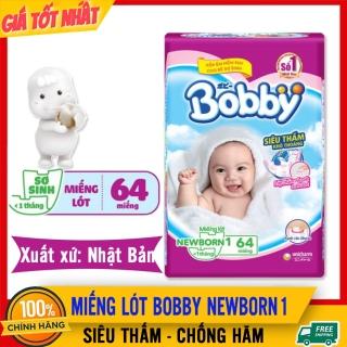 Miếng Lót Sơ Sinh Bobby Newborn 1, 64 MIẾNG, Cho Bé Dưới 5kg, Thấm Hút Siêu Tốc, An Toàn Với Da Bé - Miếng Lót Bobby Nb, Mieng Lot So Sinh , Miếng Lót Chống Thấm, Tấm Lót Sơ Sinh Cho Trẻ - Mieng Lot So Sinh Bobby Newborn -- BEMAMA thumbnail