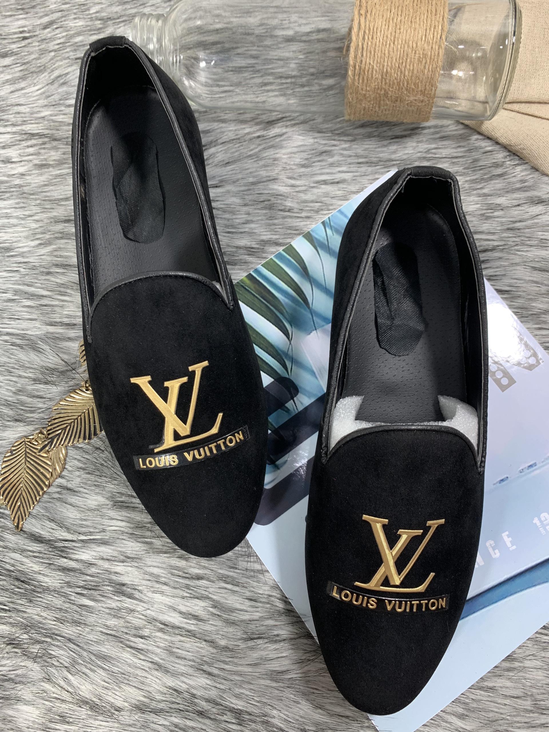 Giày lười nam LXX da lộn đế 3p- ảnh+video shop quay