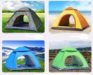 [HCM] DU LỊCH CAMPING Lều Cắm Trại Dã Ngoại Du Lịch 2 -3 Người - Lều Dã Chiến Quân Đội Chống Nắng Mưa - Lều Quân Dụng Kích Thước 1.5mx2m dễ dàng gấp gọn tiện lợi Chống Thấm Nước 2 Lớp Siêu Dày thumbnail