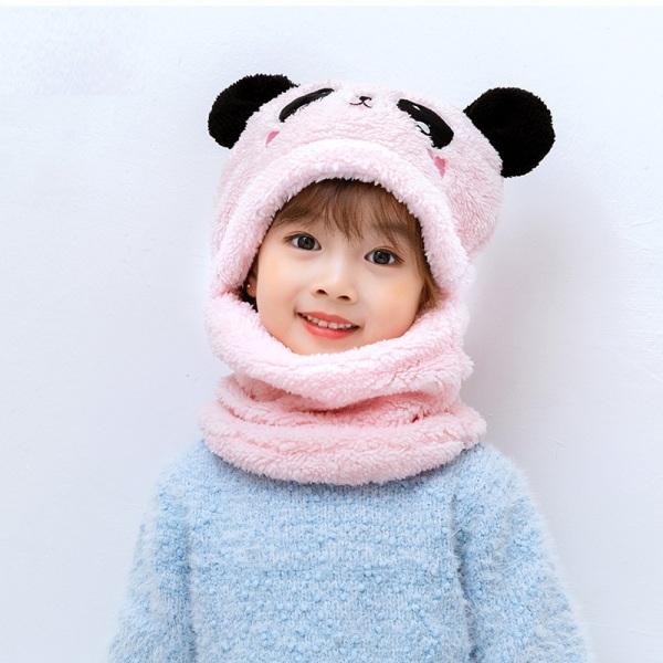 Mũ len cho bé kèm Khăn - Găng tay ấm áp - Chất liệu lông cừu - Ấm - Mịn - Thích hợp cho mẹ và bé