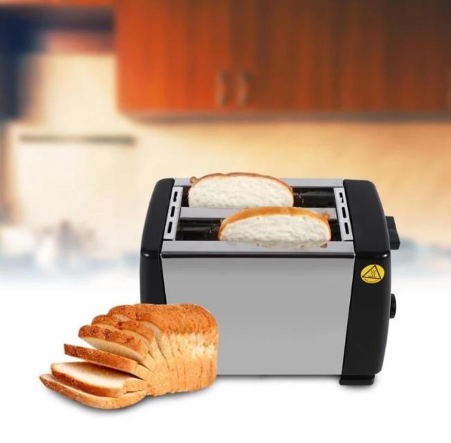 Máy nướng bánh mì 2 ngăn HJT-016S