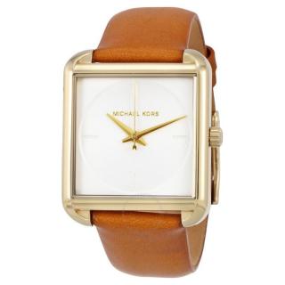 Đồng hồ nữ mặt vuông - Đồng hồ nữ dây da Michael Kors MK2584 - Mk2585 size 32mm - FULLBOX - Đồng hồ nữ đẹp thumbnail
