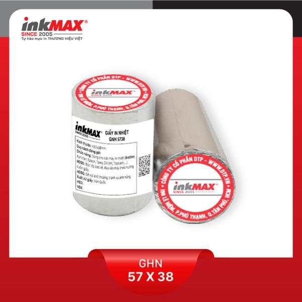 Mua ( Combo 100 cuộn ) Giấy in nhiệt K57x38 - Giấy in BILL - Giấy in hóa đơn - Hàng chính hãng inkMAX
